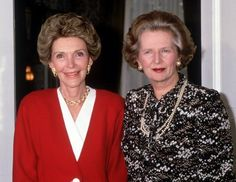 former first ladies Reagan and Ford Nancy Reagan, Ladies Club, President Ronald Reagan, Us Presidents, The One, Style Icons, Ford, Blazer, American