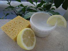 Sa'ravissante Beauté: Produit ménager #5 : Pierre d'argile : La crème à récurer solide & multi-usages !