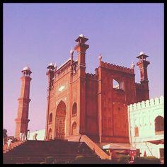Badshahi Mosque, Lahore. Pakistan.