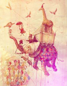 circus of human nature by Rolandas Ivanauskas