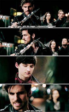 "Killian Jones - 5 * 1 ""Dark Swan"" This was so painful to watch..."