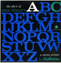 Various: ABC's Of High Fidelity – A Stereo Primer By Electro-Voice
