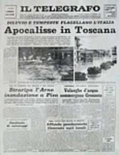 Il Telegrafo, 5 novembre 1966 dopo l'alluvione a Firenze