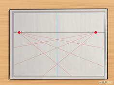 5 manières de dessiner en perspective - wikiHow                                                                                                                                                                                 Plus