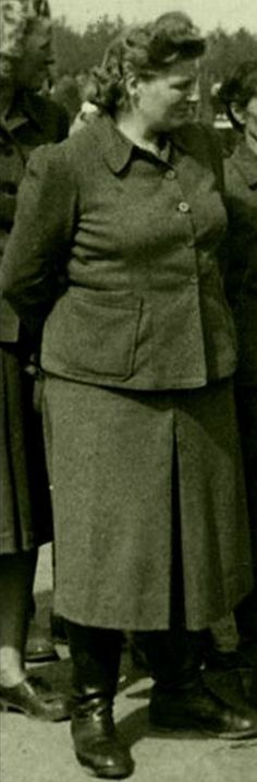 Herta Ehlert was a female guard at many Nazi concentration camps during the holocaust. She was sentenced to 15 years in prison, but was given early release in 1953. After the war Ehlert lived under the assumed name Herta Naumann, dying at age 92