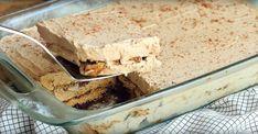 À mon avis, cce gâteau au café est l'un des meilleurs gâteaux frigidaire qui existe! Dessert Parfait, Mousse Dessert, Desserts Rafraîchissants, Fondant, Icebox Cake, Frigidaire, Vanilla Cake, Cupcake Cakes, Cupcakes