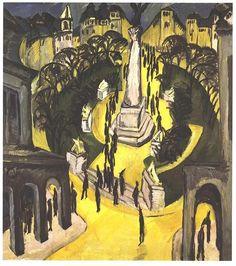 Kirchner - Belle Aliance Platz in Berlin - Ernst Ludwig Kirchner - Wikimedia Commons