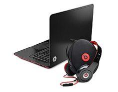 """15.6"""" Envy Sleekbook Plus Beats Headphones by HP."""