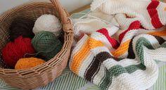 The Fuzzy Square: In Progress: Hudson Bay Blanket by Purl Soho