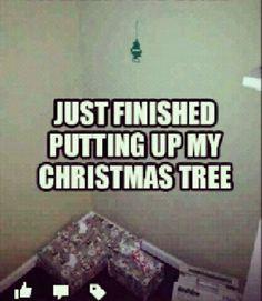 Ghetto Christmas Tree - I'm dying!!!