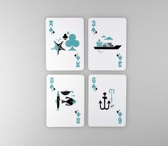 Poker cards by Atipus #graphicdesign #illustration