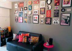 Living Room Decor, Bedroom Decor, Wall Decor, Living Rooms, Wall Art, Rock And Roll, Gold Bedroom, Indian Home Decor, Cool Walls