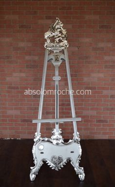 Shop - Factory Sale — Absolom Roche Rococo Chair, Floor Easel, Baroque Mirror, Gold Sofa, Victorian Sofa, Throne Chair, Skull Wedding, Settee Sofa, Wedding Chairs