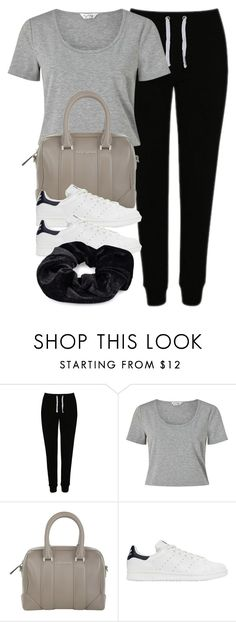 """""""Style #10887"""" by vany-alvarado ❤ liked on Polyvore featuring George, Miss Selfridge, Givenchy, adidas Originals and Pieces"""
