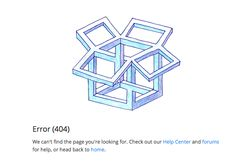 Dropbox 404 page