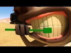 Desenho animado  humor lagarto - Filmes de desenhos E13