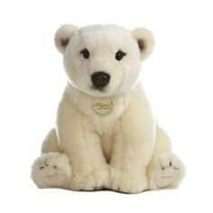 The forecast is calling for a blizzard of polar bear stuffed animals here at Stuffed Safari. Our selection of stuffed polar bears and plush polar bears is so big that it's creating a white out and that's the just way we like it! Bear Toy, Panda Bear, Polar Bear, Black Bear, Brown Bear, Teddy Bear Images, Realistic Stuffed Animals, Mother Bears, Big Bear