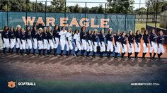 RANKED IN THE NATION - This marks the first time in the history of Auburn University Softball that a team has been ranked in the top (March, Auburn Softball, Sec Football, Auburn University, Auburn Tigers, Alma Mater, Eagles, A Team, Alabama, First Time