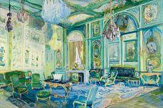 Jane Irish | Room with Green Boiserie