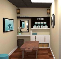 Image result for massage room ideas small