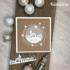 The post ★ Winterdorf Karte & meine Lieblingskarte! appeared first on Jasmine Lambrick. Simple Christmas Cards, Christmas Card Crafts, Homemade Christmas Cards, Stampin Up Christmas, Xmas Cards, Christmas Art, Scrapbooking, Scrapbook Cards, Stampin Up Weihnachten