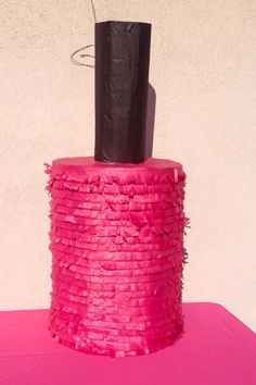 Nail polish piñata...Spa themed birthday #SweetdetailsbyKarla