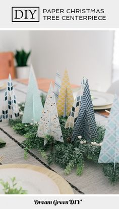 Fantastic Photos DIY Paper Christmas Tree Centerpiece Popular The very best immediately holiday getaway in the Pacific Northwest is The Lights of Christmas in St Diy Paper Christmas Tree, Types Of Christmas Trees, Paper Christmas Decorations, Summer Christmas, Christmas Centerpieces, Modern Christmas, Christmas Crafts, Paper Ornaments, Christmas Ornaments