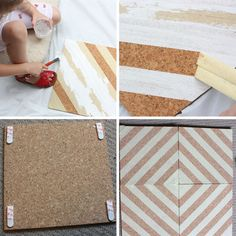 I've been looking for a neat cork board project - This seems like it!