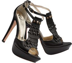 Just Cavalli black leather platform stiletto heel ankle strap sandals - http://womenspin.com/shoes/just-cavalli-black-leather-platform-stiletto-heel-ankle-strap-sandals/