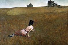 Andrew Wyeth - Christina's World  (1948)