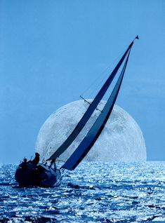 Sailing Photo -- by Sherwood Burton