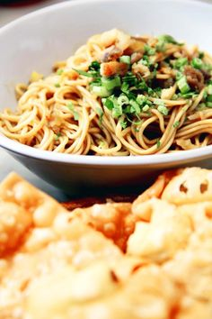 Yamien noodle at Toko You. Photo by Rian Farisa.