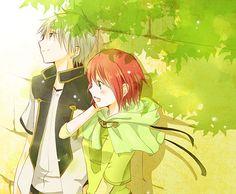 Akagami no Shirayuki-hime - Snow White with the Red Hair - Zen and Shirayuki