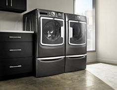 Maytag Maxima High Efficiency Washer and Dryer  http://www.home-tech.com/8404/maytag-washer-dryer- I have these and LOVE them!