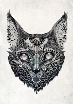 Awesome tattoo design  #tattoo #tattoos #ink #cat
