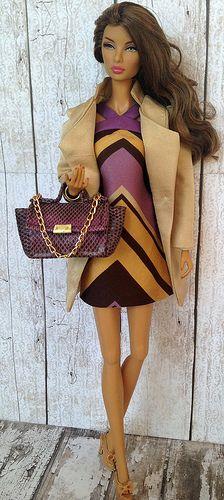 Fashion royalty Natalia Ready to Dare | by Regina&Galiana