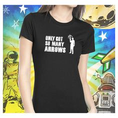 Walking Dead Daryl's Arrows Daryl Dixon Women's T-Shirt Walking Dead... ($25) ❤ liked on Polyvore