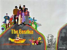 The Beatles - Yellow Submarine - Mini Print B
