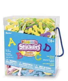 Foam Sticker Letter Kit by Darice on #zulily