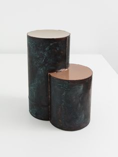 kwangho lee, lacquered copper series, 2016, copper, lacquer