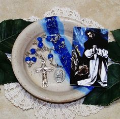 Unbreakable Catholic Chaplet of St. Dominic de Guzman - Patron Saint of Scientists, Astronomers and Falsely Accused People by foodforthesoul on Etsy