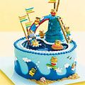 Water Park Cake- fun for a summer birthday-