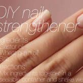 DIY Nail Strengthening Treatment. Real tempted to call shenanigans on this...