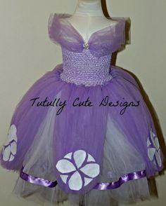 Disney's Sofia The First Tutu-Disney Party Ideas-Sofia The First Costume