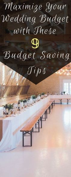With the average American wedding costing almost $30,000, it's getting more and more expensive to throw the party of your dreams. Unless your last name is Warbucks, you'll need some tips and tricks to help you save money on your big day. Here are a few ideas to make the most out of your wedding budget.
