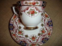 Vintage Royal Tara bone china in Carina Pattern tea cup & sauser made in Galway | eBay