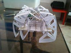 Picture of Simple Theo Jansen Mechanism based walking Deskbeest