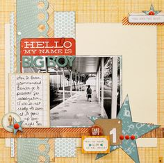 Big Boy (Scraptastic Club) - Scrapbook.com