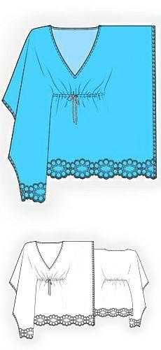 Шитье:блузки,майки,туники...