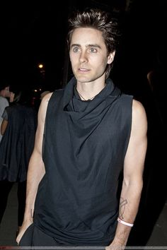 586f8bce24b Jared Leto wears aptform by Michail Gkinis Thirty Seconds